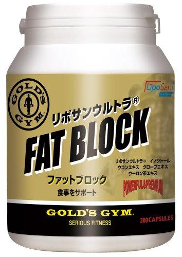 ゴールドジム(GOLD'S GYM) ファットブロック 300粒