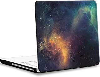 """AmaBe for Apple White Unibody MacBook 13""""/13 inch Model: A1342 (Released After Oct. 2009) Case -Rubberized Matte Plastic Hard Shell Cover for White MacBook 13.3 inch Space 02"""