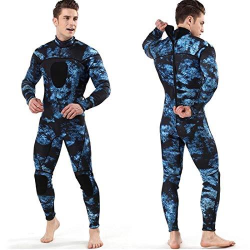 GGOOD Männer 3mm Neoprenwetsuit Schwimmen Surfen Tauchen Anzug Neoprengamaschen M