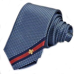 (グッチ) GUCCI ネクタイ ブルー シルク プレゼント 贈り物 ギフト ビジネス フォーマル 1978 [並行輸入品]