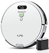ILIFE アイライフ V8eロボット掃除機 強力吸引 750ml大容量ダストボックス エレクトロウォール付き 静音 自動充電 (ホワイト)