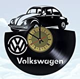 STP Cat Automobile Beetle Vinyl Wall Clock - Handmade...