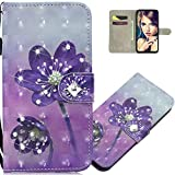 LEMAXELERS Moto Z3 Play Hülle Glitzer Bling Diamant Cover