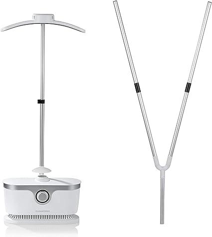 CLEANmaxx Stiratrice automatica per Camicie | Stiratrice Completamente automatica per Camicie e camicette con 2 programmi di stiratura (Plancha sin ...