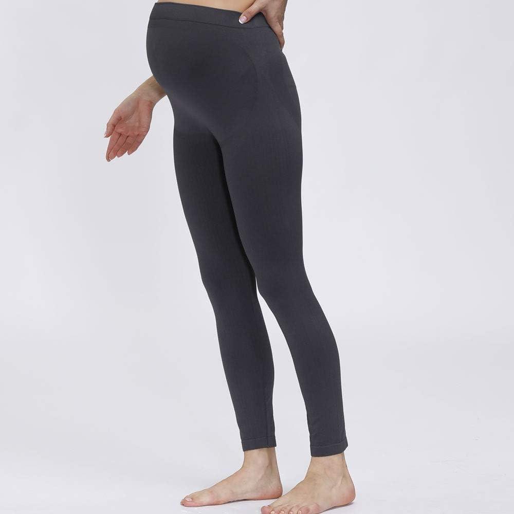 HOFISH Women/'s Maternity Legging Pants Seamless Bottom Underwear for Pregnant Women