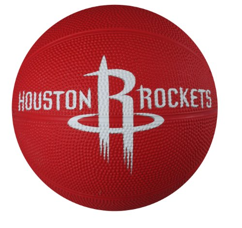 Save %34 Now! Spalding NBA Houston Rockets Mini Rubber Basketball