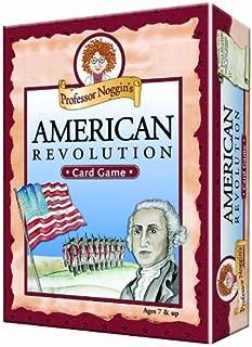 Professor Noggin's American Revolution - A Educational Trivia Based Card Game For Kids