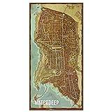 Dungeons & Dragons Set de mapas de los distritos de Waterdeep, Color (EEWCDD08C)