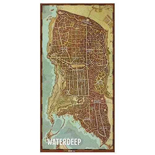 Dungeons & Dragons Mapa de la Ciudad de Waterdeep, Color (EEWCDD08B)