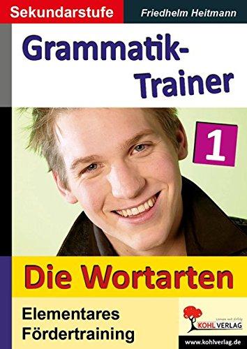 Kohls Grammatik-Trainer - Die Wortarten