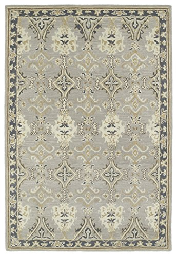 Kaleen Rugs Middleton Collection MID04-75 Grey Hand Tufted 8' x 10' Rug