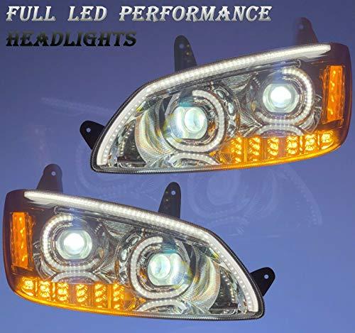 QSC Full LED Performance Headlight Assembly Left Right for Kenworth T660 08-16