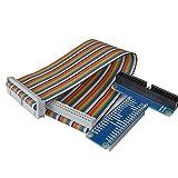 WINGONEER RPi GPIO Tablero de Expansión Breakout + Cable Cinta para Frambuesa Pi 3 2