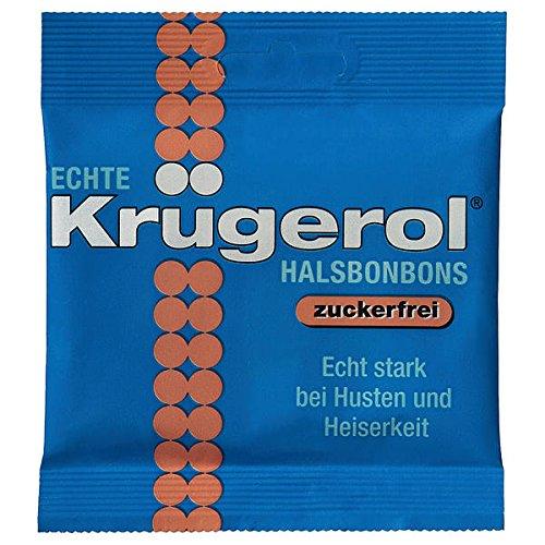 14 Beutel Echte Krügerol HalsBonbon ohne Zucker a 50g zuckerfrei