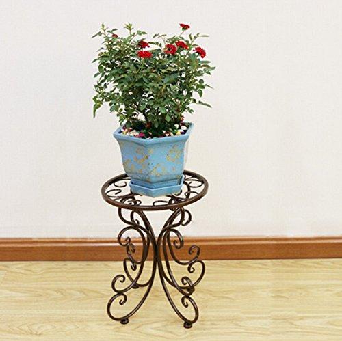 DFHHG® Porte-fleurs, Pots à fleurs à débordement 34 * 25 cm Support de fleur américain ( Couleur : Bronze )