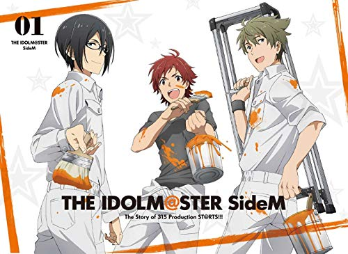アイドルマスター SideM 1(3rdLIVE第1弾チケット先行申込券付)(完全生産限定版) [Blu-ray]
