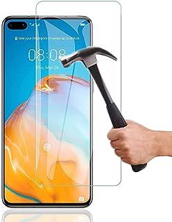 Lapinette Glas Skärmskydd Kompatibelt med Huawei P40-2 Pack - Skärmskydd i Härdat Glas - Härdat Glasskyddsfilm - 9H Force ...