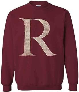 R Crewneck Sweatshirt Cardinal Red