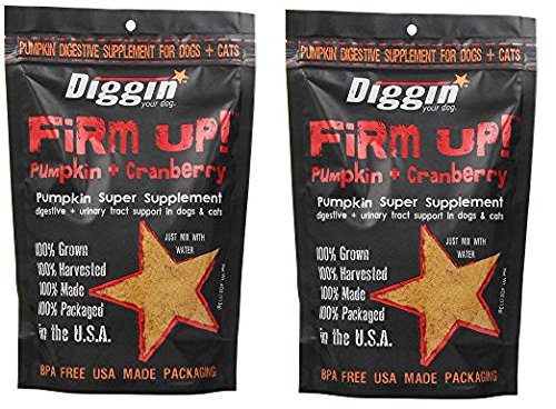 Diggin Your Dog xMlJxQ Firm Up Pumpkin Supplement, Pumpkin and...
