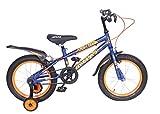Atlas Mettle TT 16inches Single Speed Bike for Kids of Age 7-9Yrs Blue