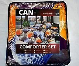 Sponsored Ad – Comforter Set, Fabulous Printed Patterned Design, 300 GSM Hollowfiber Wadding Sheet,85 GSM Dispersed Fabric...