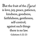 But The Fruit of The Spirit Wall Decal Galatians...