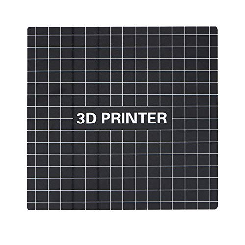 Moligh doll 235X235Mm 3D-Druck Build Surface Heatbed Platform Aufkleber Bed Bed Tape Sheet für Creality Ender-3 3D-Drucker