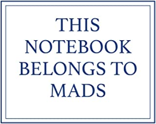 This Notebook Belongs to Mads