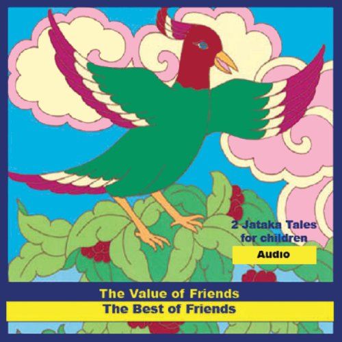 'The Value of Friends' and 'The Best of Friends' audiobook cover art