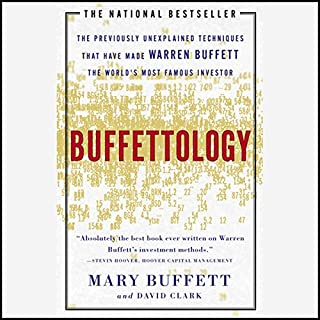 Buffettology audiobook cover art