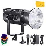 Godox SZ200Bi 200W Lampada Video LED Zoomabile Bicolore, 2800K-5600K CRI 97, TLCI 96 per Produzione Video, Riprese, Streaming Online e Fotografia
