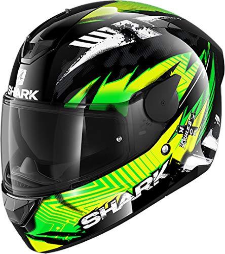 Shark Skwal 2 Blank LED Helmet LED Hjälm L Svart