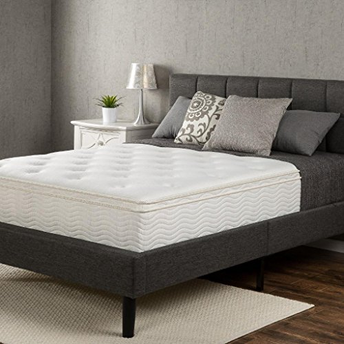 Zinus Euro Box Top Classic Spring 12 Inch Mattress, Twin
