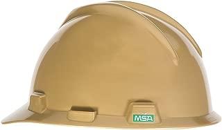 MSA 475358 V-Gard Slotted Hard Hat, Cap Style