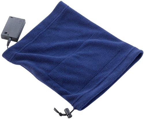 infactory Beheizbarer Schal: Beheizbares Multifunktionstuch aus Fleece (Fleecetuch)