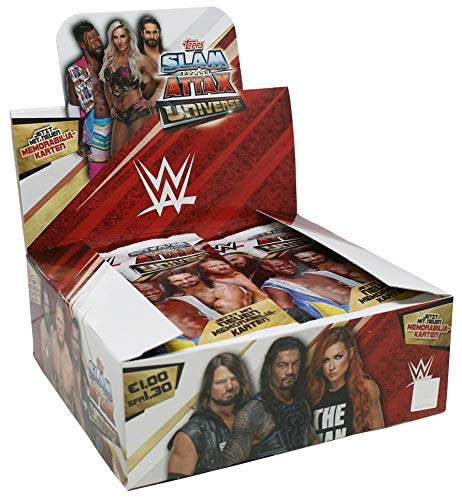 CAGO WWE Slam Attax Universe - 1 Display (36 Booster)