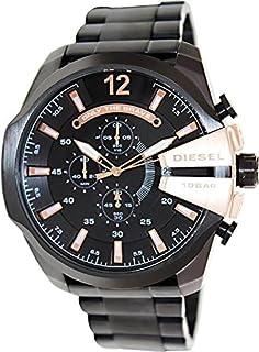 Diesel Men's Black Stainless steel Band Watch [DZ4309]