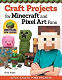 Craft Projects for Minecraft and Pixel Art Fans: 15 Fun, Easy-to-Make Projects (English Edition)