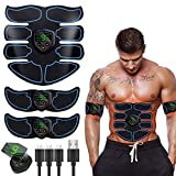 EGEYI Appareil Abdominal,Electrostimulateur Musculaire ABS...