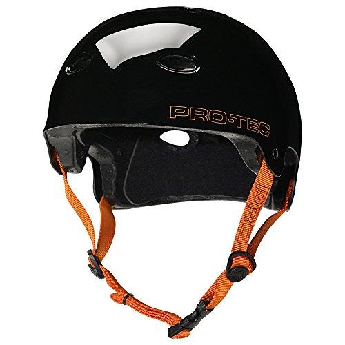 Pro-Tec Helm A B2 Skate SXP, Gloss Jet Black, XL, VEDFMEI