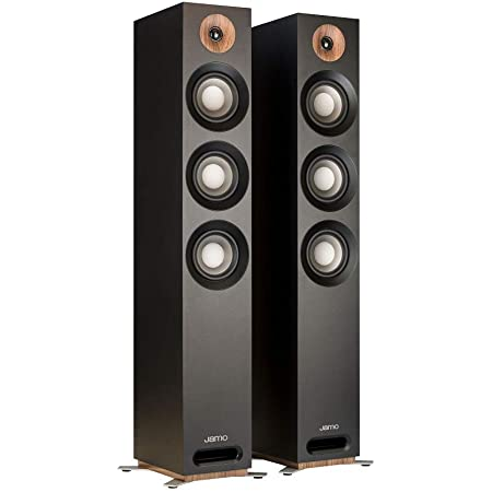 Jamo Studio Series S809 Floorstanding Speaker Pair (Black)