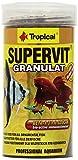 Tropical Supervit Granulado Premium alimento Principal para Todos los Peces...