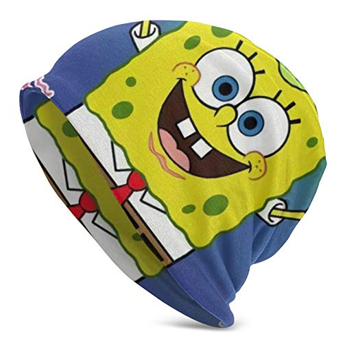 Cases Spongebob - Berretto unisex per adulti, colore: Nero