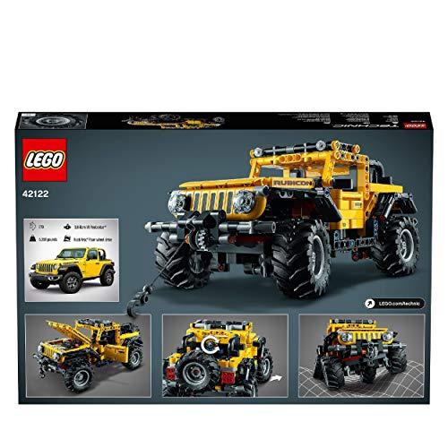 LEGO-Technic Jeep-Geländewagen – LEGO 42122 - 8