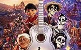 194Tdfc Coco (Película) Guitarra Dante 1000 Piezas Puzzle Rompecabezas Para Niños Para Adultos Desarrollar La Paciencia Enfoque Reducir La Presión Cartel Hd Impresión 3D Diy