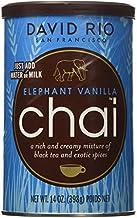 David Rio Elephant Vanilla Chai, 14oz. - 2 canisters by David Rio
