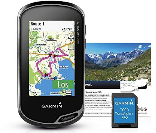 Garmin Oregon 700 GPS Portable – Wi-FI intégré, activité Profile, Geocaching Live M Noir/Gris