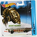 Hot Wheels Mutant Machines ~ Street Shark ~ Gold and Black ~ BBY91 ~ Unique Slithering Action Car