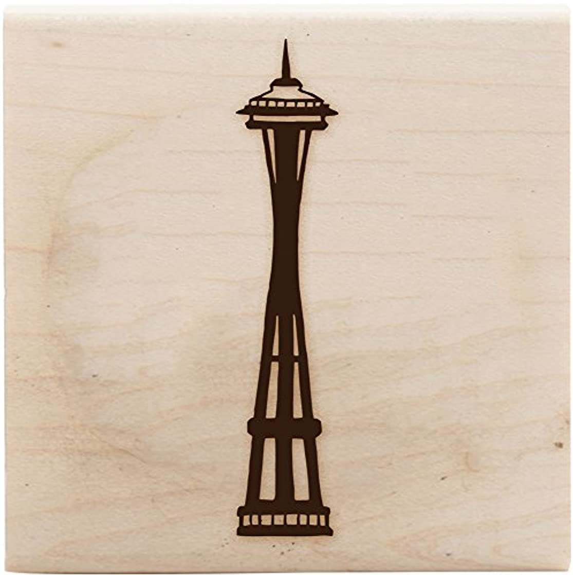 ColorBox Wood Mount Stamps, Space Needle