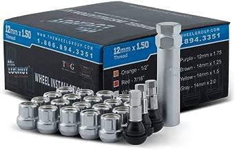 Mr. Lugnut: 5 Lug - 20 LUGS, 1 Key, 4 Chrome TR413, 12x1.50 Thread, Spline LUGNUT with CONICAL Seating.